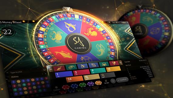Money Wheel วงล้อมหาโชค SA Gaming1688