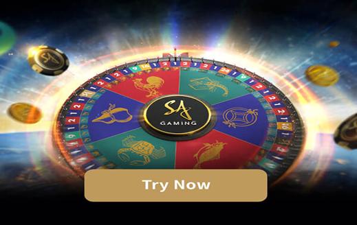 วงล้อมหาโชค เกมคาสิโนแนวใหม่ SA Gaming1688